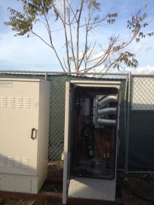AGO H2000 hydrogen fuel cell system as primary cell tower supply
